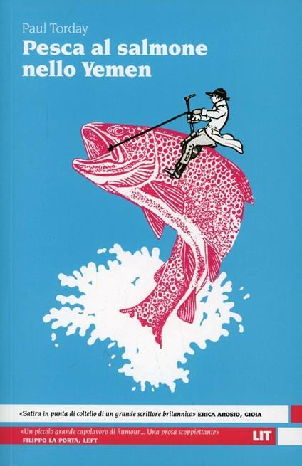 Pesca al salmone nello Yemen - Paul Torday - copertina