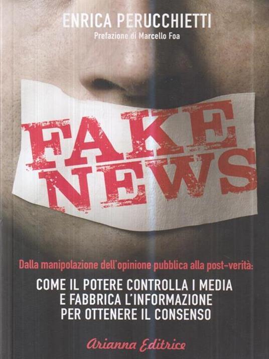Fake news - Enrica Perucchietti - copertina