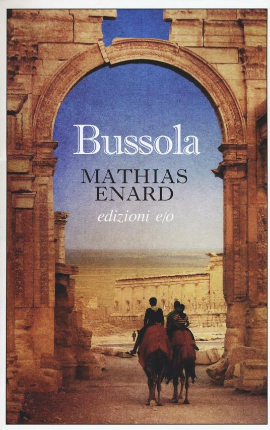 Bussola - Mathias Énard - copertina