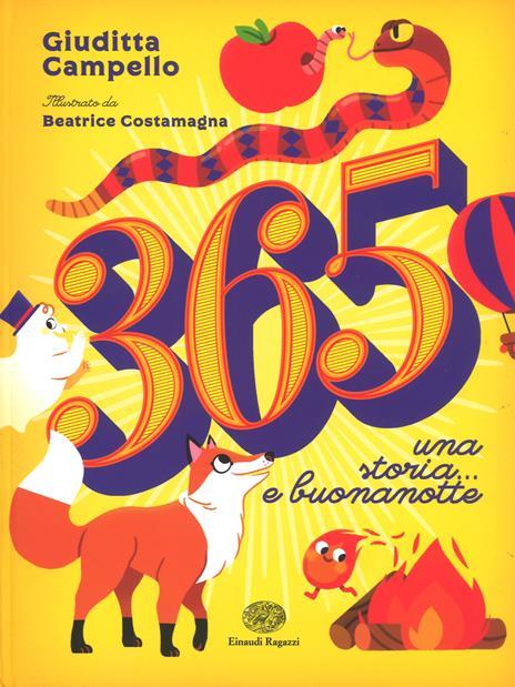 365. Una storia... E buonanotte - Giuditta Campello - copertina