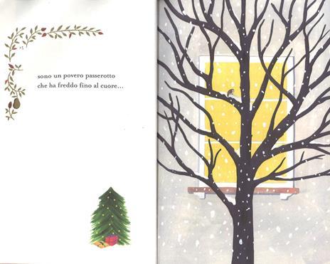 La preghiera di un passero che vuol fare il nido sull'albero di Natale. Ediz. a colori - Gianni Rodari - 2
