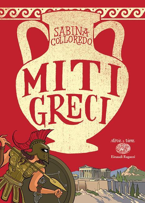 Miti greci - Sabina Colloredo - copertina