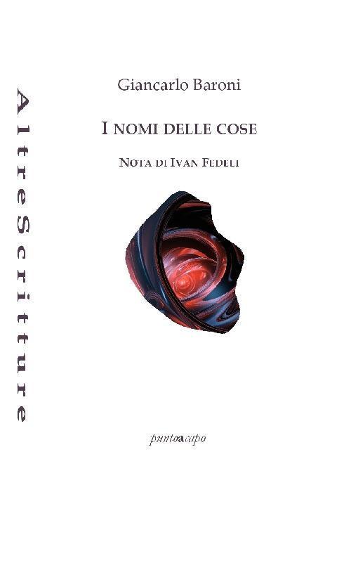 I nomi delle cose - Giancarlo Baroni - copertina