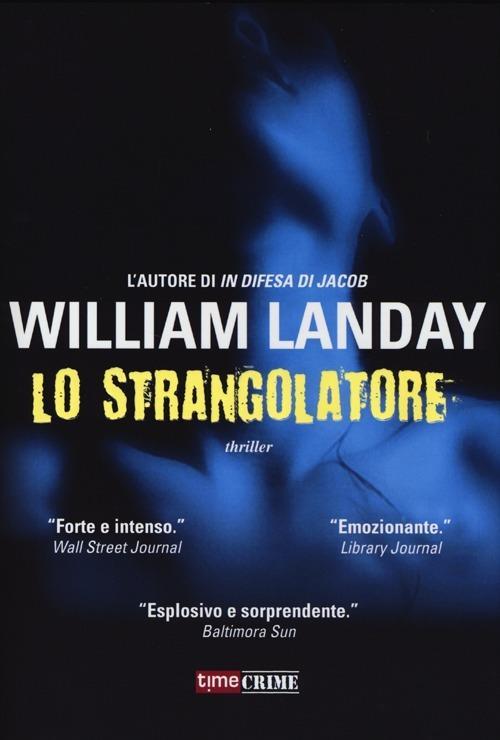 Lo strangolatore - William Landay - copertina