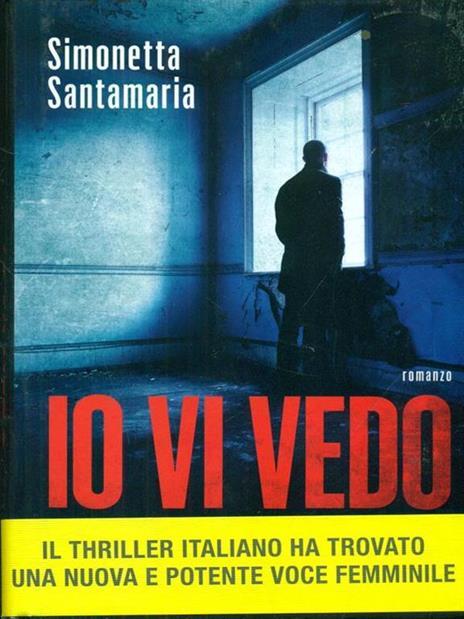 Io vi vedo - Simonetta Santamaria - copertina