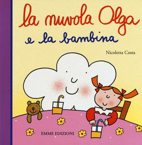La nuvola Olga e la bambina - Nicoletta Costa - copertina