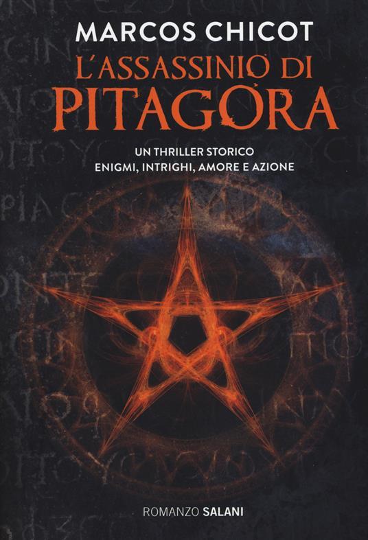 L' assassinio di Pitagora - Marcos Chicot - copertina