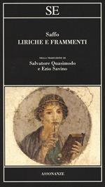 Liriche e frammenti. Testo greco a fronte