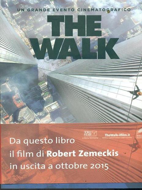The walk - Philippe Petit - copertina