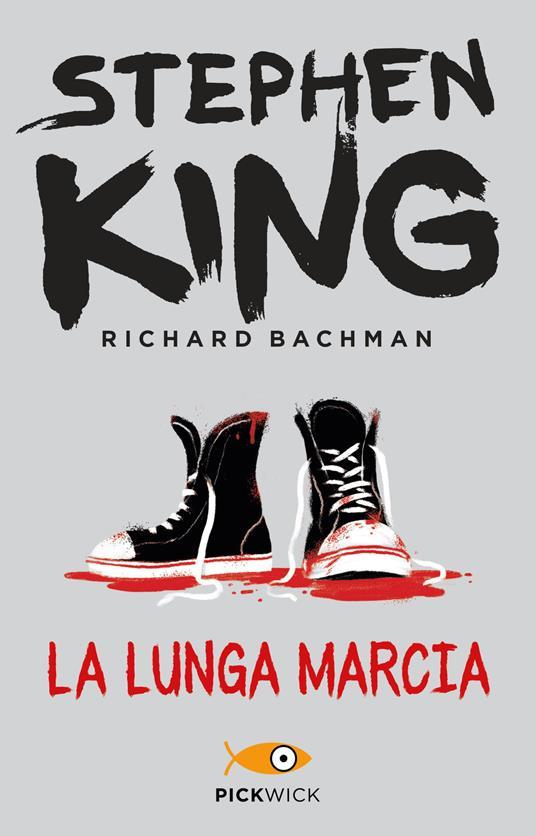 La lunga marcia - Stephen King - copertina