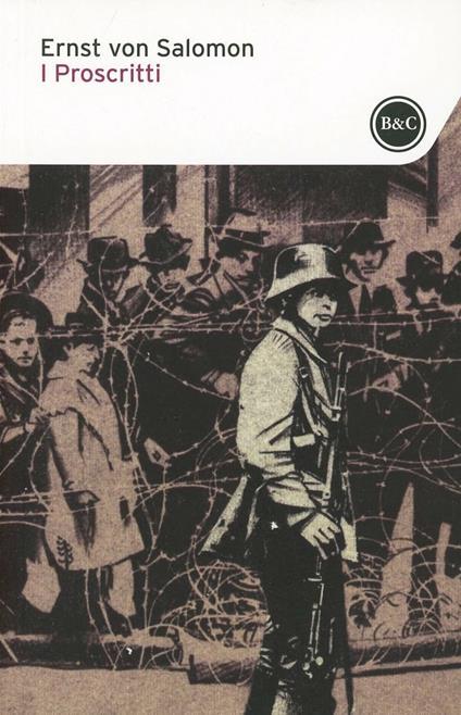 I Proscritti - Ernst von Salomon - copertina