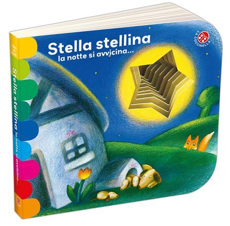 Stella stellina la notte si avvicina.... Ediz. a colori - Giovanna Mantegazza - copertina