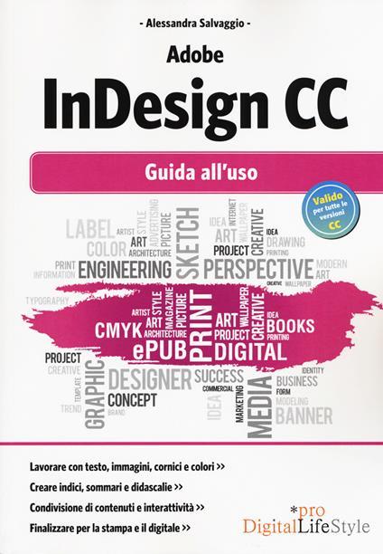 Adobe InDesign CC. Guida all'uso - Alessandra Salvaggio - copertina