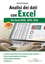 Analisi dei dati con Excel. Per Excel 2010, 2013, 2016