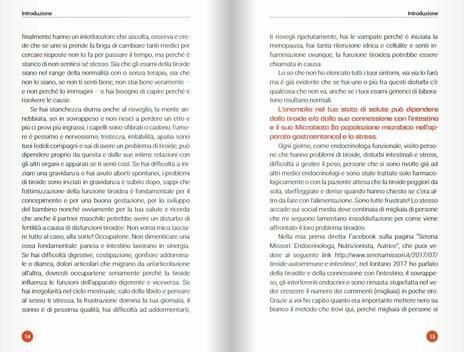 La dieta della tiroide biotipizzata - Serena Missori,Alessandro Gelli - 7