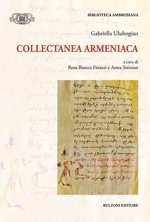Collectanea Armeniaca - Gabriella Uluhogian - copertina