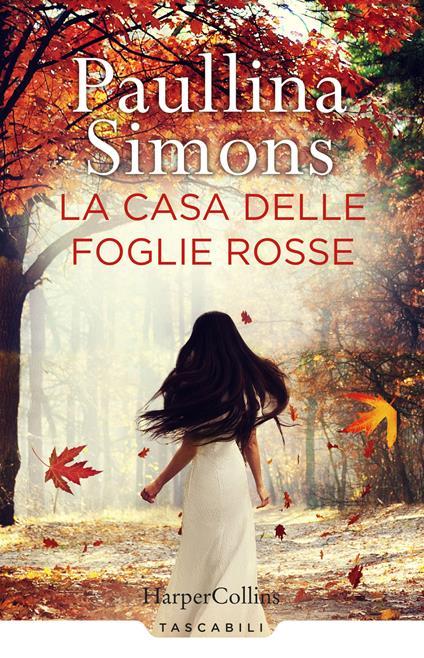 La casa delle foglie rosse - Paullina Simons - copertina