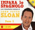 Impara lo spagnolo con il divertente metodo. Paso 1. Audiolibro. CD Audio
