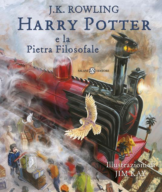 Harry Potter e la pietra filosofale. Ediz. illustrata. Vol. 1 - J. K. Rowling - copertina
