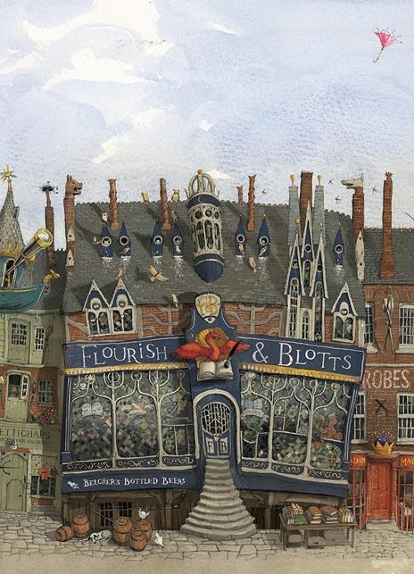 Harry Potter e la pietra filosofale. Ediz. illustrata. Vol. 1 - J. K. Rowling - 9