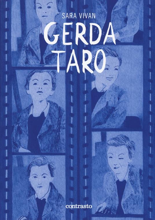Gerda Taro - Sara Vivian - copertina