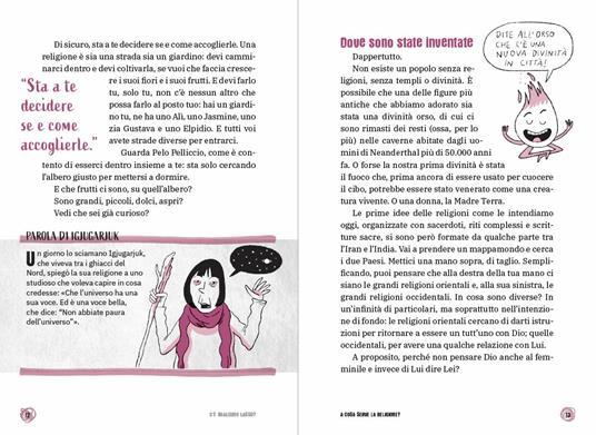 C'è qualcuno lassù? Il libro che ti spiega tutto sulle religioni. Le 15 domande - Federico Taddia,Pierdomenico Baccalario,Vito Mancuso - 5
