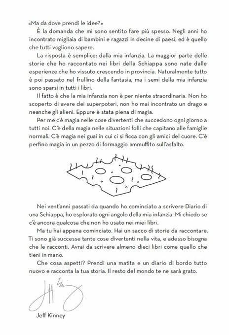 Diario di una schiappa. Ediz. speciale con formaggio - Jeff Kinney - 2
