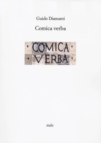 Comica verba - Guido Diamanti - copertina