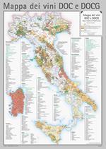 Mappa dei vini DOC e DOGC