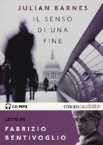 Il senso di una fine letto da Fabrizio Bentivoglio. Audiolibro. CD Audio formato MP3