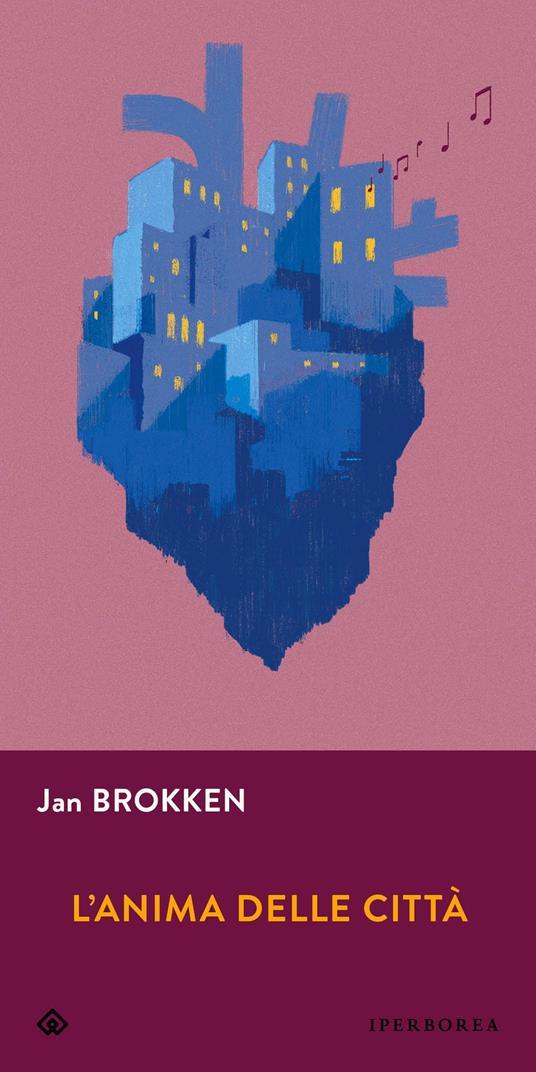 L' anima delle città - Jan Brokken - copertina