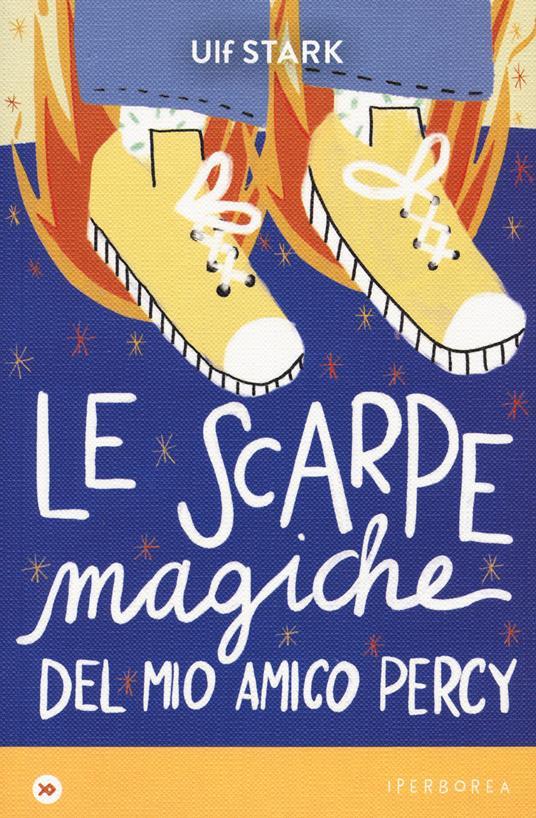 Le scarpe magiche del mio amico Percy - Ulf Stark - copertina