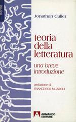 Teoria della letteratura. Una breve introduzione