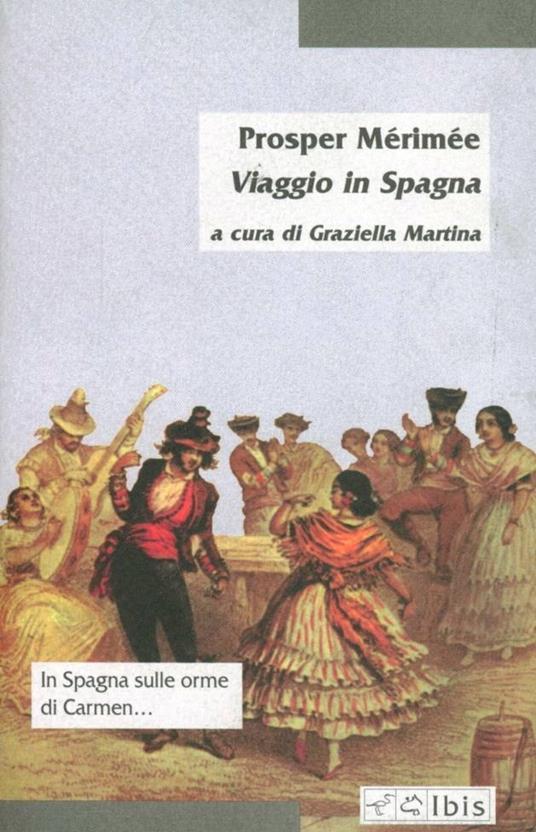 Viaggio in Spagna - Prosper Mérimée - copertina