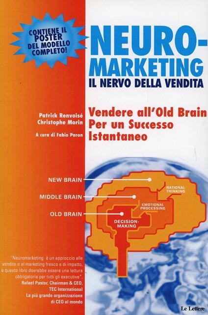 Neuromarketing: il nervo della vendita - Patrick Renvoisé,Christophe Morin - copertina