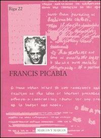 Francis Picabia - copertina