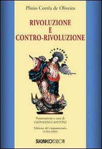 Rivoluzione e contro-rivoluzione - Plinio Corrêa de Oliveira - copertina