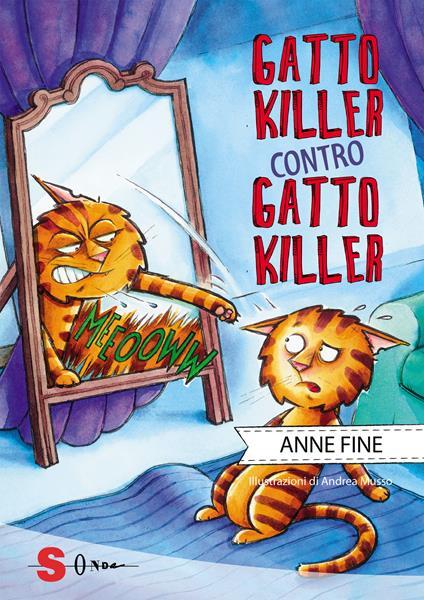 Gatto killer contro gatto killer - Anne Fine - copertina
