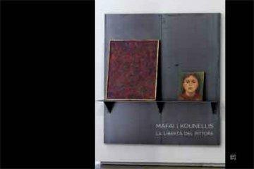 Mafai - Kounellis. La libertà del pittore. Ediz. italiana e inglese - copertina