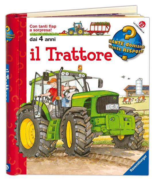 Il trattore. Ediz. a colori - Wolfgang Metzger,Andrea Erne - 2