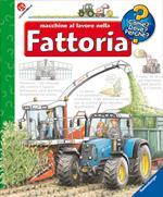 Macchine al lavoro nella fattoria