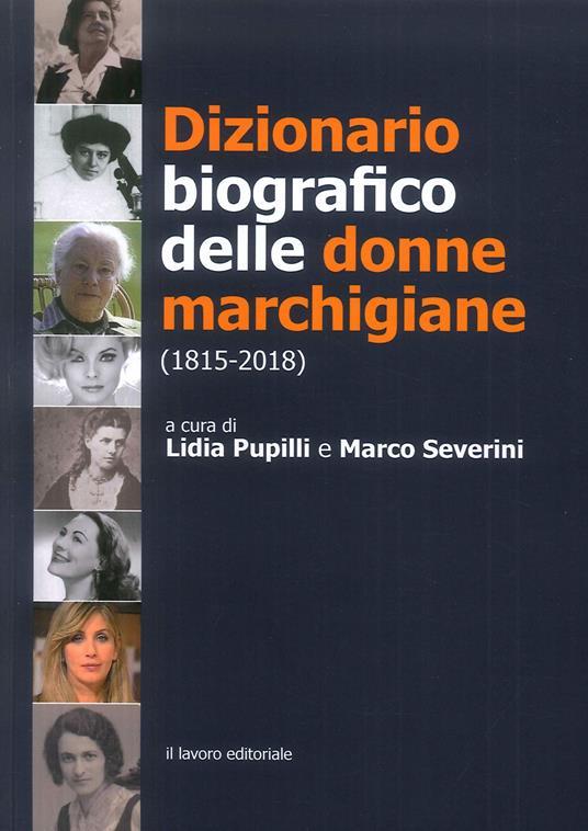 Dizionario biografico delle donne marchigiane (1815-2018) - copertina