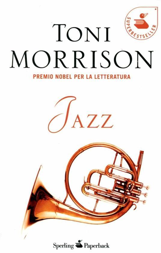 Jazz - Toni Morrison - copertina