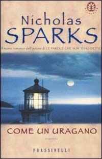 Come un uragano - Nicholas Sparks - copertina