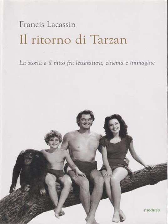 Il ritorno di Tarzan - Francis Lacassin - copertina