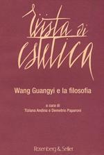 Rivista di estetica (2015). Vol. 61: Wang Guangyi e la filosofia.
