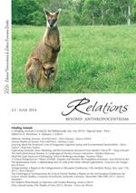 Relations. Beyond Anthropocentrism, 2.1 - June 2014