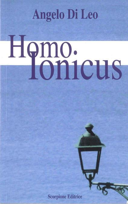 Homo ionicus - Angelo Di Leo - copertina