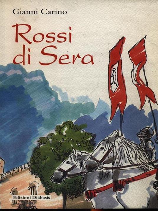 Rossi di sera - Gianni Carino - copertina