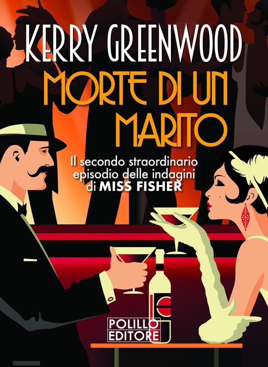 Morte di un marito - Kerry Greenwood - copertina